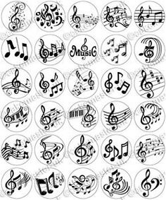30 x Music Notes Musical Party Edible Rice Wafer Paper Cupcake Toppers Small Music Tattoos, Music Tattoo Designs, Small Tattoo Designs, Tattoo Small, Wafer Paper, Paper Cupcake, Music Doodle, Music Notes Art, Music Symbols