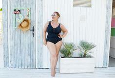 BañAdor Shapewear Para Lucir Curvys En La Beach One Piece, Swimwear, Fashion, Women, Fashion Styles, Bathing Suits, Moda, Swimsuits, Fashion Illustrations