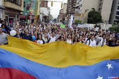 Miles de estudiantes salen a protestar a las calles en Venezuela | NOTICIAS AL TIEMPO