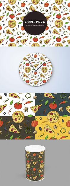 Doodle Pizza Vector Free Seamless Pattern is a beautiful set of graphics Free Vector Patterns, Vector Free, Pizza Vector, Art Drawings, Doodles, Presents, Graphics, Beautiful, Graphic Design