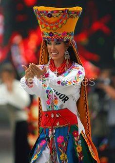 Traje Cusubamba (Miss Ecuador en Miss Universo)