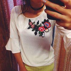 Bordados💜 #novidades #lojaamei #etiquetaamei #veludo #bordado #fashion #muitoamor #choker #criar #moda #amar