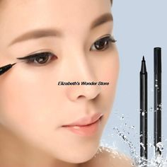 1 pc caneta delineador líquido make up lápis delineador caneta delineador maquiagem Gel fina projeto impermeável para forros alishoppbrasil