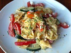 Dinner Tonight: Tortellini Pasta Salad | Serious Eats : Recipes