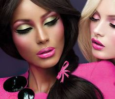barbie pink, #bestfalselashes #LUXYLASH http://instagram.com/luxylash #luxy-lash.com