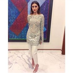 Pakistani Fancy Dresses, Pakistani Party Wear, Pakistani Couture, Pakistani Outfits, Indian Dresses, Indian Fashion Modern, Ethnic Fashion, Asian Fashion, Indian Wedding Outfits