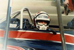Elio De Angelis su Lotus 1981