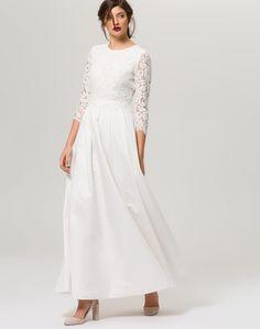 IVY & OAK Kleid Bridal in Offwhite bei ABOUT YOU bestellen. ✓Versandkostenfrei ✓Zahlung auf Rechnung ✓kostenlose Retoure