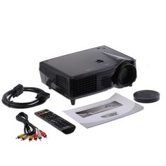 VS508 LCD Video Projector with HDMI VGA USB Home Theater Full HD native 1080P Video Portable mini LED Projector