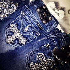 My favorite kind of jeans, Miss Me<3