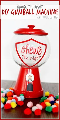 Choose the right incentive diy gumball machine from MichaelsMakers Sugarbee Crafts
