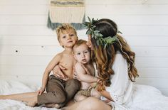 boho mommy and me session from Danielle Navaratil Photography for Life + Lens Blog