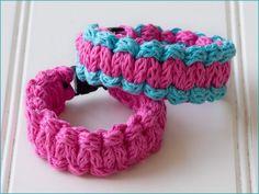 Ryedale Bracelet  Knitting Pattern  iCord / Paracord