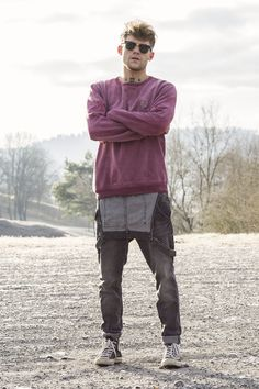 #italian #organic #fashion #ecofashion #streetwear #haircut #men #cotton #natural #dyeing #marga #purple #viola #clothing