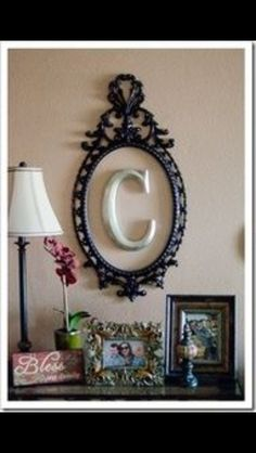Re-purposing an old photo frame