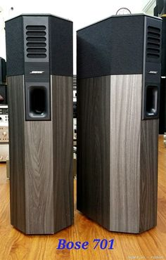 BOSE 701 High End Speakers, Big Speakers, Tower Speakers, High End Audio, Bose, Audiophile Speakers, Hifi Audio, Audio Design, Speaker Design