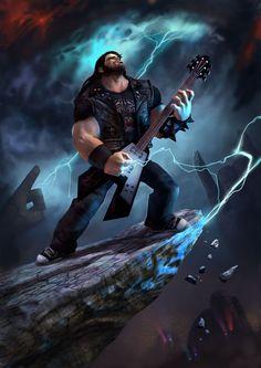 Brutal Legend, Jack Black. This game was so underrated.
