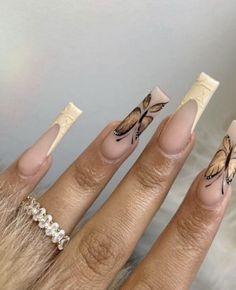 Oval Acrylic Nails, Oval Nails, Drip Nails, Toe Nails, Acylic Nails, Girls Nails, Stylish Nails, Nails Inspiration, Pretty Nails