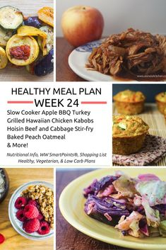 """If you fail to plan, you are planning to fail.""Every week I like to share highlights form the Slender Kitchen meal plans. I believe meal planning is critical to any long term and effective..."