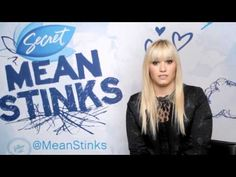 Demi Lovato Advice to Not be a Cyberbully with Secret Mean Stinks (Secret Means Stinks, Girl Drama, Bullying Prevention, Mean Girls, Demi Lovato, Counseling, Youtube, Campaign, Advice, Tips
