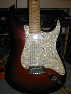 Another baby - the Fender Strat Plus