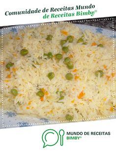 Portuguese Recipes, Risotto, Rice, Ethnic Recipes, Kitchen, Cod Recipes, Rice Recipes, Tasty Food Recipes, Snow Peas
