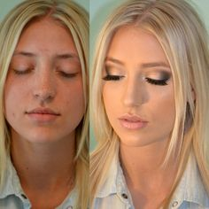 airbrush makeup before and after wedding - Google Search