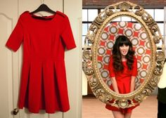 There's a new listing on eBay for Jess Day's red pleated Zara dress from the opening credits of New Girl!