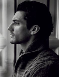 "David Gandy ~ Oh, how the camera loves him!  He's my Roarke for JD Robb's ""In Death"" series."