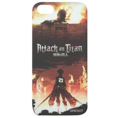 Attack On Titan Cover Art iPhone 5 Case | Hot Topic ($8.98) ❤ liked on Polyvore featuring accessories, tech accessories and phone cases