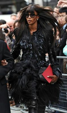 Recognized As One Of Fashion's Most Iconic, Super Model Naomi Campbell Will Al. Claudia Schiffer, Naomi Campbell, Top Models, Kate Moss, Black Is Beautiful, Beautiful People, Look Fashion, Fashion Models, Fashion Shoes