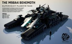 M98A4 Behemoth Superheavy Plasmyr Tank (FULL HD) by Universe-of-Dusk on DeviantArt