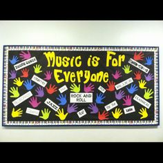 31 Music Class Bulletin Board Ideas and quotes!