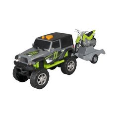 Adventure Wheels Sport Trailers, Jeep Wrangler 2-Door W/Kawasaki KlX 140