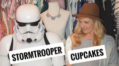 Star Wars Rogue One Stormtrooper Cupcakes