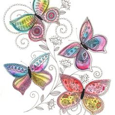 Hey, I found this really awesome Etsy listing at https://www.etsy.com/listing/189078497/bright-fresh-summer-butterflies-print