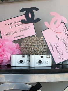 Photo Prop for CoCo Chanel Theme Party done by www.creativeoutlookdesigns.com