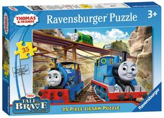 Thomas & Friends - Tale of the Brave - 35 Piece Jigsaw Puzzle