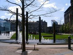 Cathedral Gardens is an open space in Manchester city centre