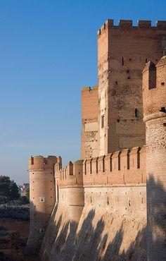 Castillo de la Mota in Medina del Campo - Valladolid, Spain
