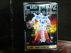 #custranz Whitenoise #boxart #origami #packaging top view #transformers #branding #customtransformer #autobot #g1 #creative #designer #graphicdesign #aimhigh