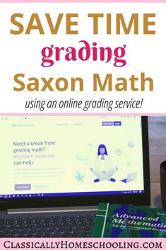 Saxon Math is an amazing math curriculum that has worked well for us for many, many years. But let me tell you, trying to keep up with the grading has been challenging. I needed a Saxon Math Online Grading Service! Kindergarten Homeschool Curriculum, High School Curriculum, Homeschool Curriculum Reviews, Teaching Math, Homeschooling, Saxon Math, Math Courses, Math About Me, Elementary Math