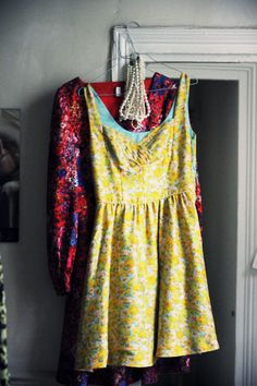 Colorful Patterned Dresses - I could live in these!