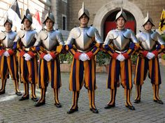 Rome, Swiss Guard, Family Thanksgiving, Pope John, Vatican City, Roman Catholic, Military History, Switzerland, Turin