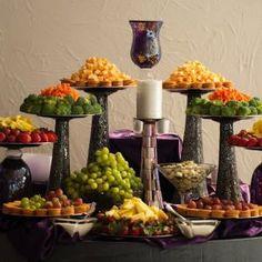 Wedding Fruit Table Displays Party Decoration Ideas   Wedding ...