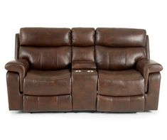 Wellsley Leather Power Reclining Console Loveseat Big Lots Store, Power Reclining Loveseat, Living Room Sectional, Grey Sectional, Tempered Glass Door, Cubby Storage, Power Recliners, Console, Love Seat