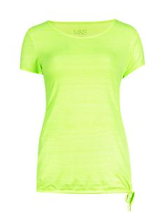 Quick Dry Scoop Neck T-Shirt with Cool Comfort™ Technology | M&