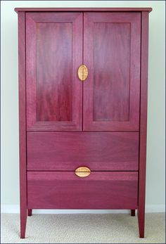 purple hert furniture   think I'll do my next project in purple heart which is my version of ...