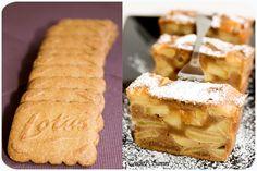 -Préchauffer le four à 180°C.    -Eplucher les pommes et les tailler en cubes. Faire fondre le beurre, y faire compoter les dés de pommes quelques minutes.    -Réduire les spéculoos en poudre.    -Battre les oeufs et la crème. Ajouter la farine et la maïzéna tamisées puis la poudre de spéculoos. Terminer par les pommes.    -Verser dans un moule à cake classique et enfourner 25-30 min.