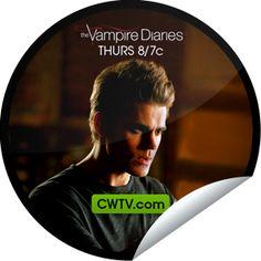 Steffie Doll's The Vampire Diaries: The Murder of One on CWTV Sticker | GetGlue